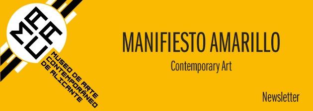 Banner Manifiesto amarillo