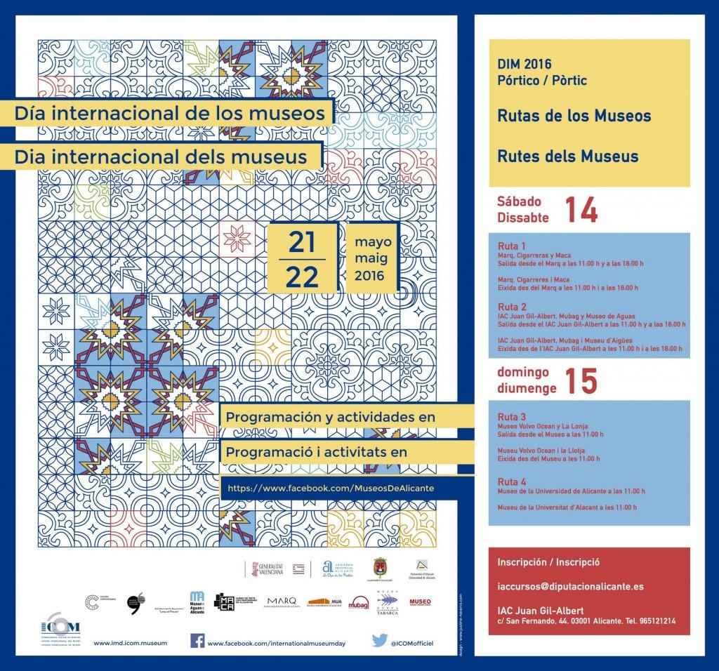 AF Cartel A3 Día Internacional de los Museos