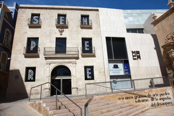 Fachada del Museo de Arte Contemporáneo de Alicante